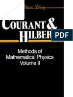 Methods of Mathematical Physics Vol 1 R Courant D Hilbert
