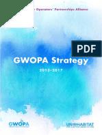 Global Water Operators Partnership Alliance , Strategy 2013-2017