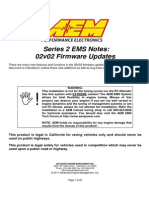 AEM Series 2 EMS Setup Notes -02v02 Firmware Updates