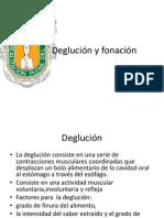 Deglución y Fonación