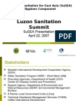 Sustainable Sanitation for East Asia (SuSEA) Philippines Component