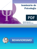 SEMINARIO BEHAVIORISMO
