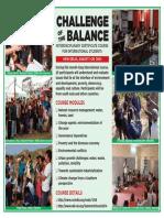 ChallengeoftheBalance 2014 Poster