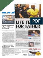 Asbury Park Press front page Thursday, May 29 2014