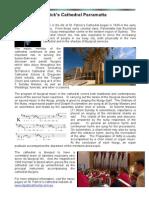 St Patricks Cathedral Parramatta Music _Profile Info 2014
