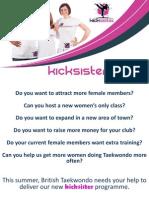 Become a KickSister Club!