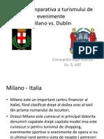 Analiza Comparativa a Turismului de Evenimente Milano vs. Dublin