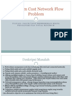 Minimum Cost Network Flow Problem