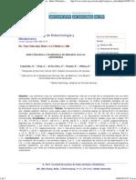 Revista Venezolana de Endocrinología y Metabolismo - Indice Glucémico e Insulinémico de Alimentos Ricos en Carbohidratos