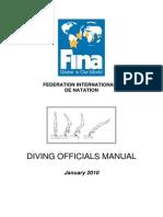 Diving officials manual