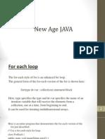 6.Newfeatures of Java