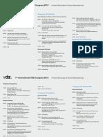 Programme VDZ Congress