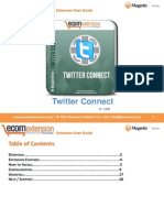 Magento Twitter Connect Extension - Adds a Social Sharing Button for Twitter to your Product Pages!