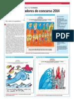 Traballos ganadores do concurso Mellor Xornalista Infantil e Xuvenil 2014.La Voz de la Escuela.28.5.2014