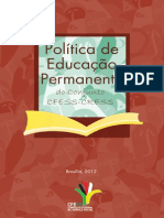 Brochuracfess Pol Educacao Permanente