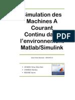 56675521 Tp Matlab Machine a Courant Continu Par Armel Sitou Afanou