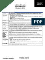 IBM business analytisc education