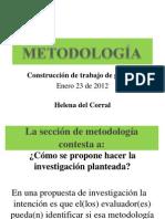 2012 CTG2 Enero23 MetodolosRedaccion