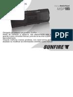 MANUAL Mp3 Player Portátil Sunfire Msp185