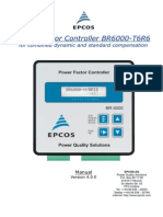 Manual Epcos Powerfactor Controller