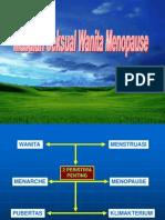 Menopause & Masalah Seksual