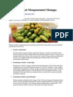 5 Alasan Sehat Mengonsumsi Mangga