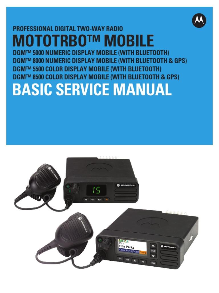 68009492001-C-MOTOTRBO LACR DGM 5000-8000 Series Basic Service