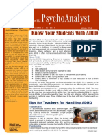 The HLS PsychoAnalyst -Jan Issue