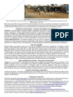 Bulletin de Jumaa Prayer 30 Mai 2014