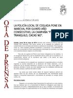 140529 NP- Quinta Edición Campaña Pisa Tranquilo. Cacas No…