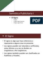 Semiótica Publicitaria I - Signo