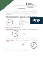 Circunferencia Teoria