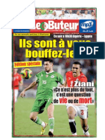LE BUTEUR PDF du 18/11/2009