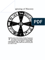 7476251 the Beginning of Masonry