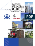 Best Practices Guide for Concrete Construction