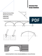 Structural Plate Design Guidelines