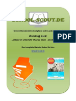 47138 Lektueren Im Unterricht Thomas Mann - Die Buddenbrooks.1-Vorschau Als PDF