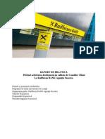 Raport de Practica Raiffeisen Suceava 2011