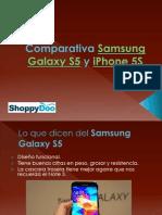 Samsung Galaxy S5 y iPhone 5S