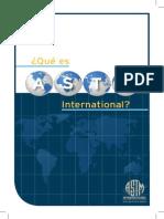 Clasificacion ASTM