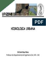 Drenagem Urbana - Hirologia Urbana - Ufg-cac