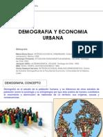 Demografía y Economía Urbana