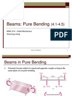 Beam Pure Bending