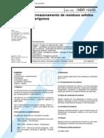 NBR 12235 -1992- - Armazenamento de Residuos Solidos Perigosos