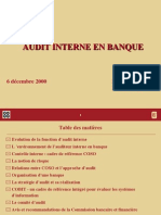Audit Interne Banque