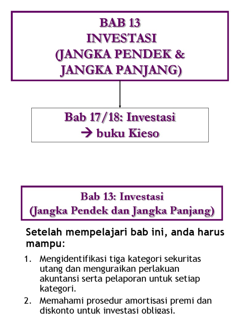 Chap17 Investasi Jangka Pendek Dan Jangka Panjang