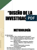 Diseño Metodologico - Marco Practico