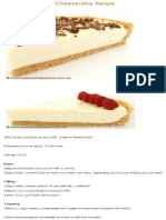 Unbaked Lemon Cheesecake Part1