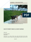 South Pointe Park - a Dog's World in South Beach