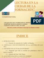 LA LECTURA EN LA SOCIEDAD DE LA INFORMACIÓN SOCIEDAD SIIII